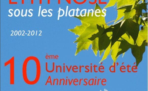 Université d'Eté 2012. Formation Hypnose Ericksonienne. Institut Milton Erickson Avignon-Provence. Dr Patrick BELLET